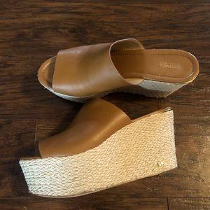 Michael Kors Cunningham Wedge Sandals Espadrilles
